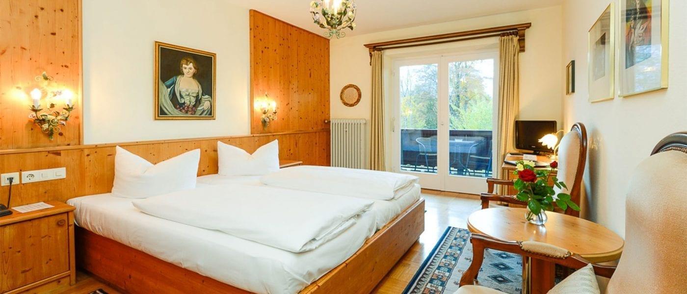 Doppelzimmer A Balkon Bergblick
