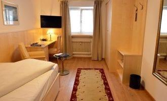 Gemütliches Einzelzimmer in Stoll's Hotel Alpina in Schönau am Königssee / Berchtesgaden