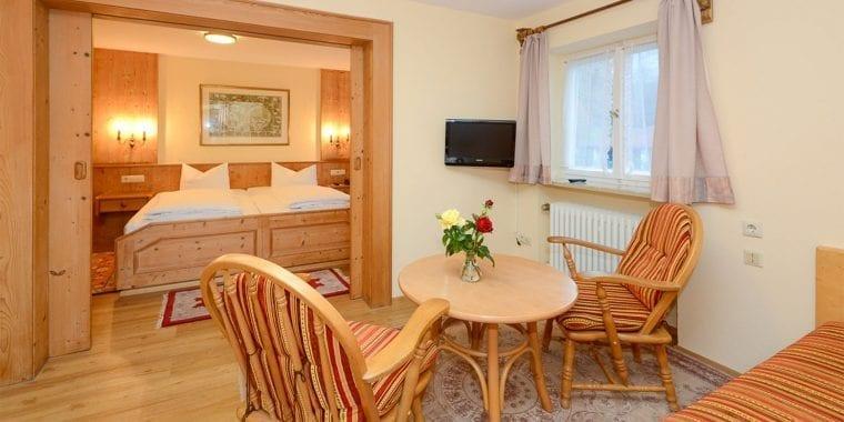 Kleines Appartement in Stoll's Hotel Alpina in Schönau am Königssee / Berchtesgaden