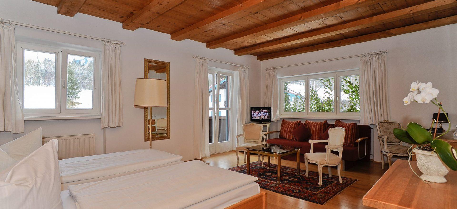 Familienzimmer, Kategorie A in Stoll's Hotel Alpina in Schönau am Königssee / Berchtesgaden