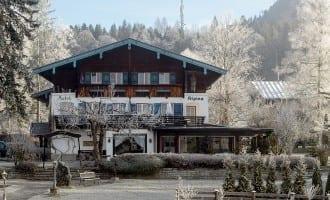 Winterurlaub in Stoll's Hotel Alpina in Berchtesgaden / Schönau am Königssee im Winter