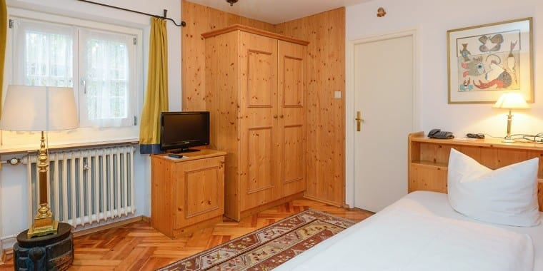 Single Room in Stoll's Hotel Alpina, Schönau am Königssee – Berchtesgaden