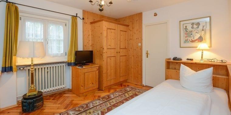 Einzelzimmer in Stoll's Hotel Alpina in Schönau am Königssee