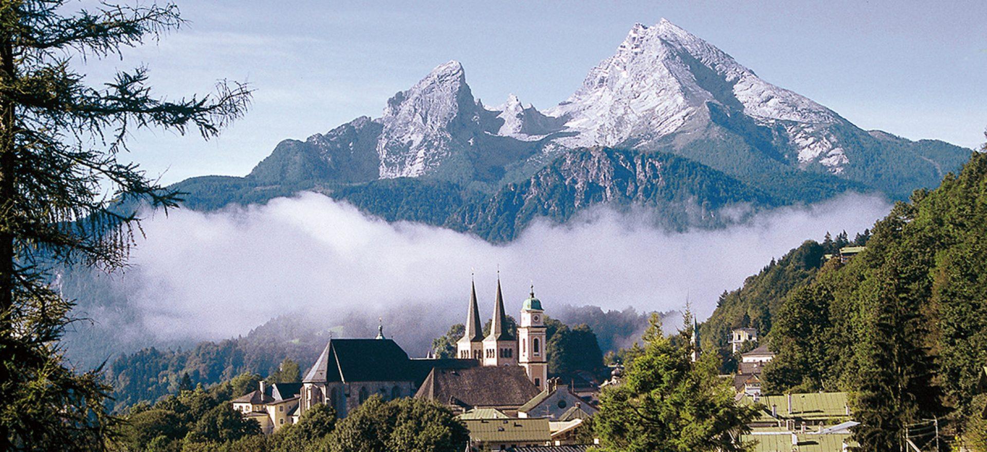 Die Berchtesgadener Alpen – Stoll's Hotel Alpina in berchtesgaden / Schönau am Königssee