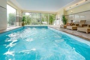 Hotel mit Schwimmbad, Hallenbad und beheizter Außenpool - Stoll's Hotel Alpina in Berchtesgaden / Schönau am Königssee