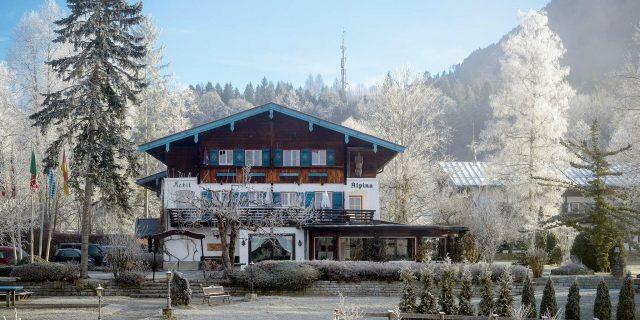 Stoll's Hotel Alpina im Winter – Schönau am Königssee / Berchtesgaden