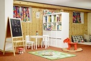 Unser Kinderspielzimmer in Stoll's Hotel Alpina in Berchtesgaden / Schönau am Königssee