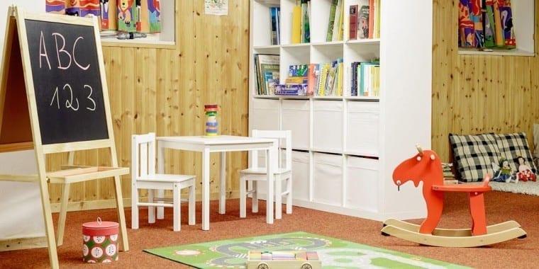 Kinderspieleinrichtungen im Familienhotel – Stoll's Hotel Alpina in Berchtesgaden / Schönau am Königssee