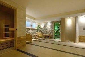Die Sauna in Stoll's Hotel Alpina in Berchtesgaden an Königssee