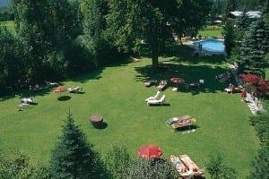 Sonnenliegewiesen in Stoll's Hotel Alpina in Berchtesgaden / Schönau am Königssee