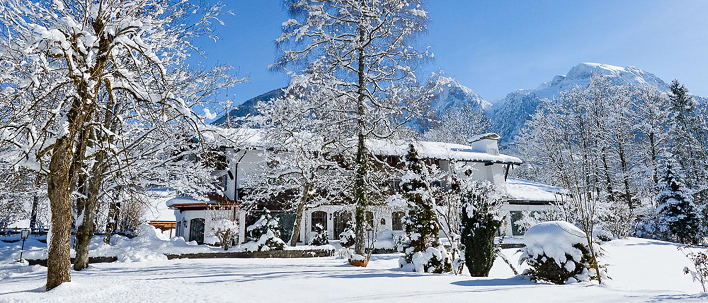 Winter in Stoll's Hotel Alpina, Berchtesgaden / Schönau am Königssee