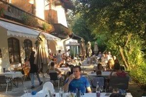 Restaurant Terrasse Stoll´s Hotel Alpina Berchtesgaden