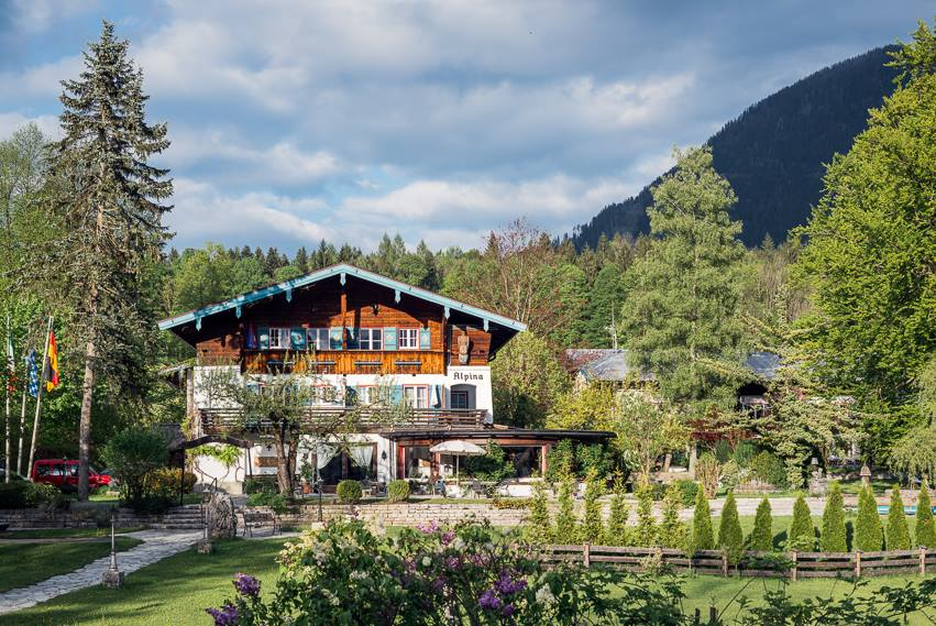 Das Stoll's Hotel Alpina in der Totale