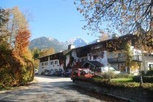 Das Stammhaus des Stoll's Hotel Alpina in Berchtesgaden / Schönau am Königssee